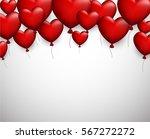 valentine's love background... | Shutterstock .eps vector #567272272