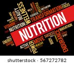 nutrition word cloud collage ... | Shutterstock .eps vector #567272782
