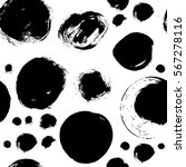 seamless black and white... | Shutterstock .eps vector #567278116