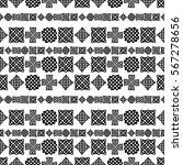celtic knot seamless pattern | Shutterstock .eps vector #567278656