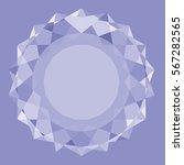 illustration  the big diamond  ... | Shutterstock .eps vector #567282565