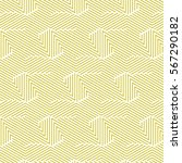 yellow and white pattern... | Shutterstock .eps vector #567290182