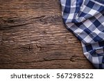 top view of checkered... | Shutterstock . vector #567298522