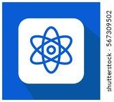 atom science vector icon | Shutterstock .eps vector #567309502