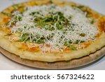 delicious fresh made italian... | Shutterstock . vector #567324622