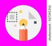 vector icon flat design