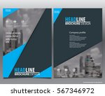 abstract vector modern flyers... | Shutterstock .eps vector #567346972