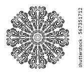 gorgeous flourish mandala....