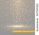 glowing glitter light effects... | Shutterstock .eps vector #567359302