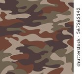 camouflage pattern background... | Shutterstock .eps vector #567363142