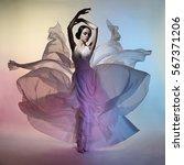 art fashion studio photo of... | Shutterstock . vector #567371206
