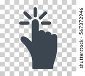 click vector pictogram....