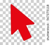 mouse pointer vector pictogram. ...