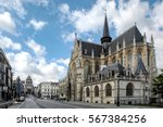 saint peter's church in leuven  ... | Shutterstock . vector #567384256