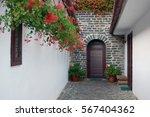 beautiful building facade | Shutterstock . vector #567404362