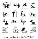very useful and usable set of... | Shutterstock .eps vector #567405448