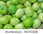 green mangoes | Shutterstock . vector #56741008