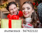 close up portrait of happy... | Shutterstock . vector #567422122