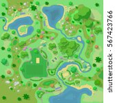 site improvement  landscape and ... | Shutterstock .eps vector #567423766