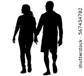 couples man and woman... | Shutterstock .eps vector #567434782