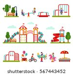 flat design vector illustration ... | Shutterstock .eps vector #567443452