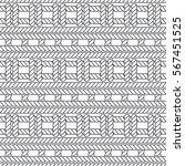 marine rope knot seamless... | Shutterstock .eps vector #567451525