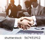 businessman. a hand for ... | Shutterstock . vector #567451912