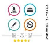 food additive icon. hamburger...