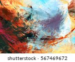 bright artistic splashes.... | Shutterstock . vector #567469672