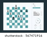 chess tacticsinfographics... | Shutterstock .eps vector #567471916