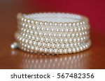 Bracelet With Pearls On The...