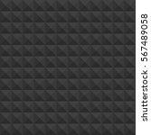 black pyramids seamless pattern.... | Shutterstock .eps vector #567489058
