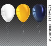 inflatable air flying balloons... | Shutterstock .eps vector #567494176