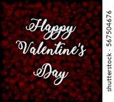 happy valentine's day card   Shutterstock .eps vector #567504676