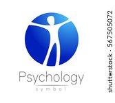 modern man logo sign of... | Shutterstock .eps vector #567505072