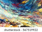 Abstract Beautiful Multicolor...