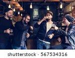 craft beer booze brew alcohol...   Shutterstock . vector #567534316