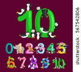 ordinal number 10 for teaching...