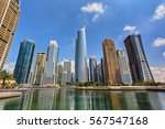 View Of Jumeirah Lakes Towers...