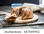 cake. marble cake cup of coffee ... | Shutterstock . vector #567549952