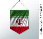 the national flag of iran. the... | Shutterstock .eps vector #567557422