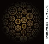 floral background | Shutterstock .eps vector #56759671