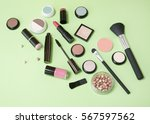cosmetic beauty products... | Shutterstock . vector #567597562