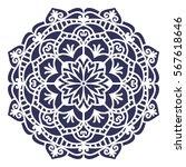mandala. vector ethnic oriental ... | Shutterstock .eps vector #567618646