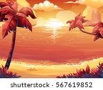 vector cartoon illustration of... | Shutterstock .eps vector #567619852