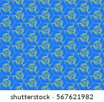 lace seamless pattern with... | Shutterstock .eps vector #567621982