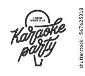 Karaoke Party Lettering...