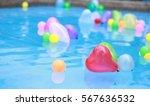 heart balloons in love | Shutterstock . vector #567636532