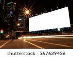 billboard blank for outdoor... | Shutterstock . vector #567639436