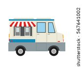 ice cream car icon | Shutterstock .eps vector #567641002